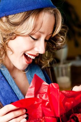 En bra present ska vara personlig och komma som en överraskning