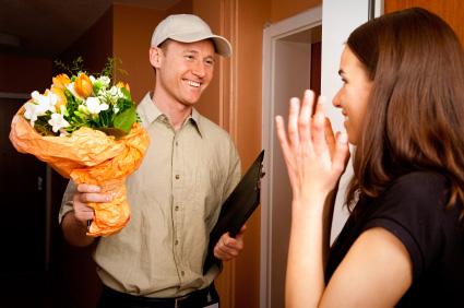 Att skicka blommor i present är oftast lyckat